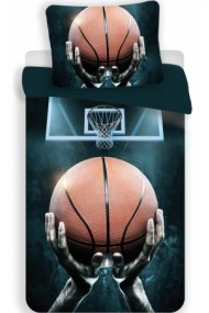 Lenjerie de pat pentru copii Basketball 140×200cm, 70×90 cm - Basketball