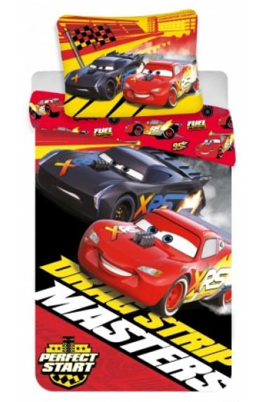 Lenjerie de pat pentru copii Cars 140×200cm, 70×90 cm - Cars