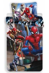 Lenjerie de pat pentru copii Spiderman 140×200cm, 70×90 cm - Spiderman