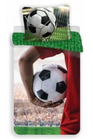 Lenjerie de pat pentru copii Fotbal 140×200cm, 70×90 cm - Fotbal