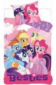 Lenjerie de pat pentru copii Little Pony 140×200cm, 70×90 cm - Little Pony