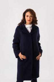 Palton bleumarin din lana EMA\T Concept Angel Investor