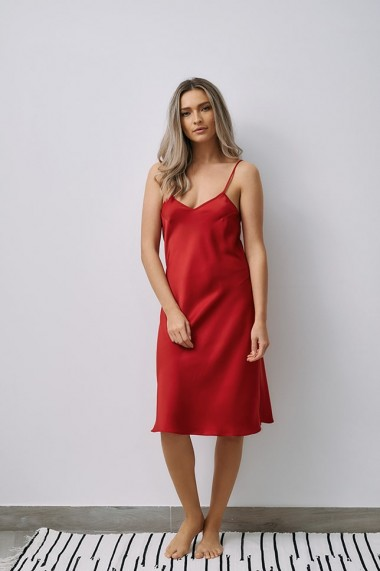 Rochie EMA T Less is More Rosie din satin