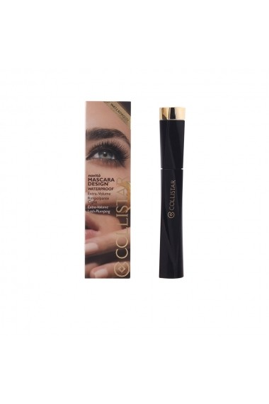 Design mascara rezistent la apa #ultra black 8 ml ENG-37433