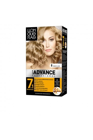 Color Advance vopsea de par #8-rubio claro ENG-62208