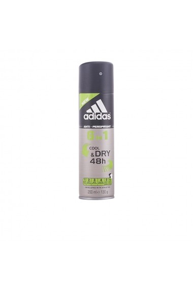 Cool & Dry deodorant spray 6 in 1 200 ml ENG-64028