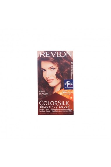 Colorsilk vopsea de par #46-castaño cobrizo dorad ENG-74201