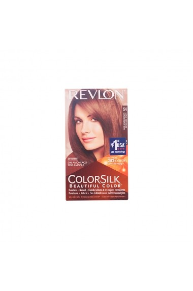 Colorsilk vopsea de par #54-castaño claro dorado ENG-74205