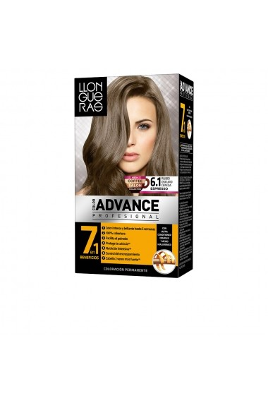 Color Advance vopsea de par #6,1-rubio oscuro ceni ENG-85450