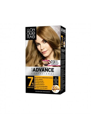 Color Advance vopsea de par #7,3-rubio medio dorad ENG-85451