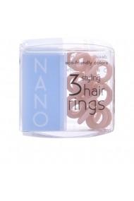 Invisibobble Nano set elastice de par 3 bucati ENG-89289