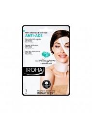 Masca anti-rid cu colagen pentru fata si decolteu ENG-89526