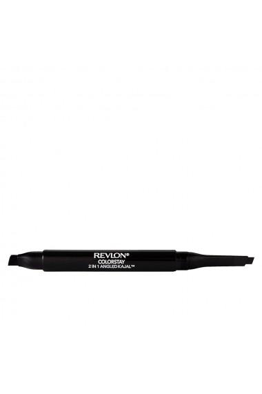 Angled Kajal 2 in 1 creion dermatograf #101-onix ENG-94814