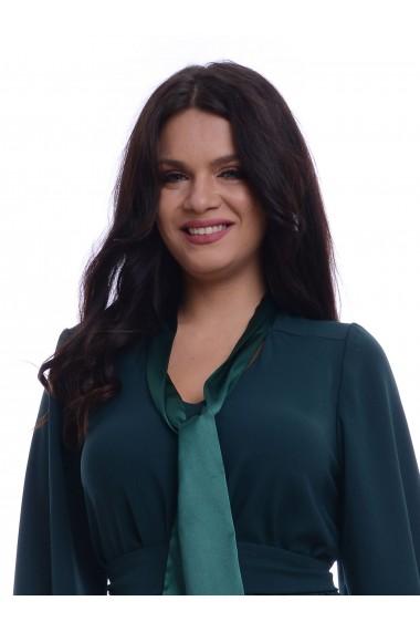 Rochie Eranthe PQ76 Verde