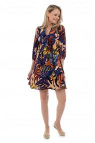 Rochie Eranthe Scarf V148 Multicolora