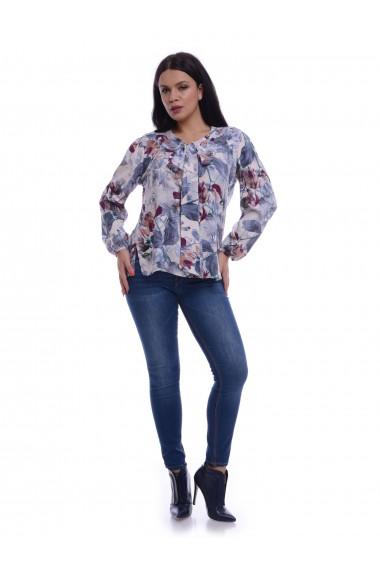 Bluza Eranthe cu funda V155 Multicolor