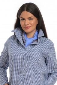 Риза Eranthe ERT-V175 Бял - Тъмносин