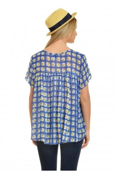 Bluza voal imprimat Eranthe V26