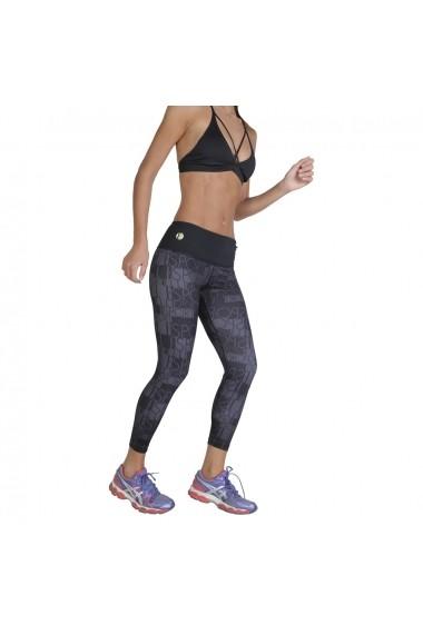 Pantaloni sport Elle Sport ES3446 AOP10 negru