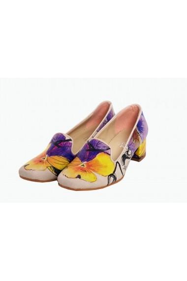 Pantofi cu toc Goby DB114 Multicolor - els
