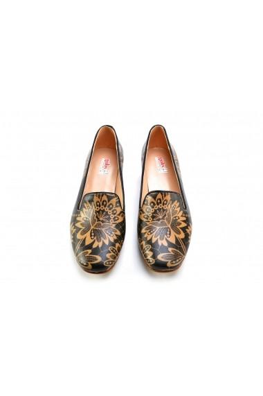 Pantofi cu toc Goby DB123 Multicolor