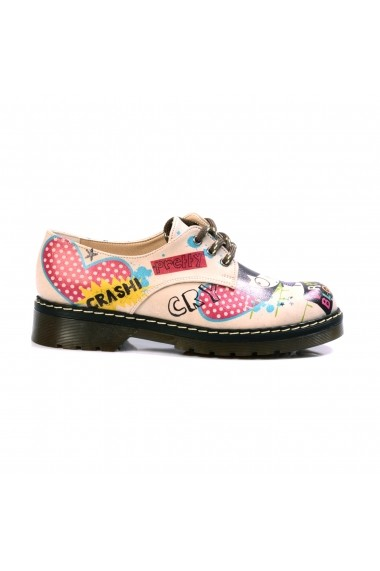 Pantofi GOBY FHP-MAX105 Multicolor-Bej