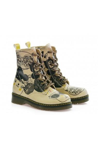 Pantofi GOBY FHP-MRT104 Multicolor