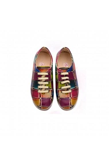 Pantofi Oxford GOBY FHP-SLV019 Multicolor