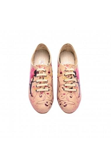 Pantofi Oxford GOBY FHP-SLV023 Multicolor