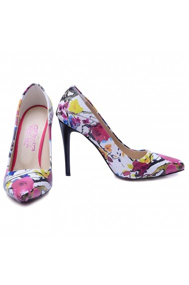 Pantofi cu toc Goby STL4025 multicolor