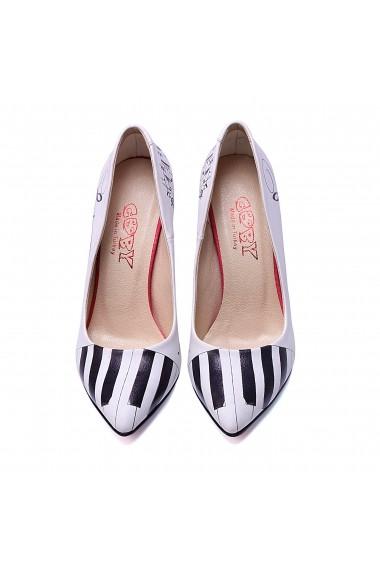 Pantofi cu toc Goby STL4401 Multicolor