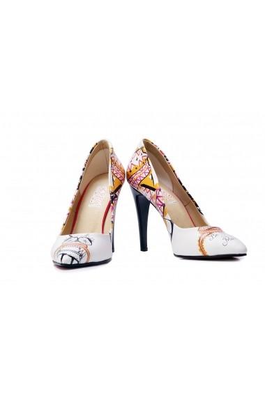 Pantofi cu toc Goby STL4412 Multicolor