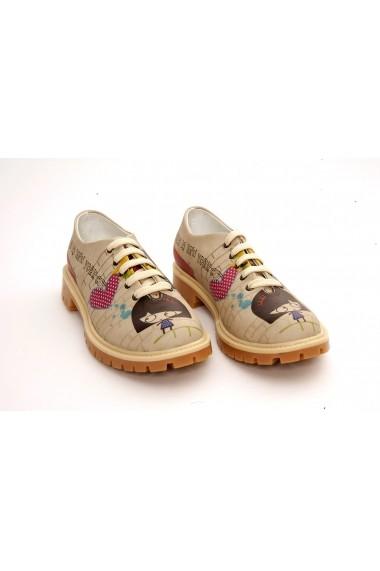 Pantofi GOBY FHP-TMK6504 Multicolor