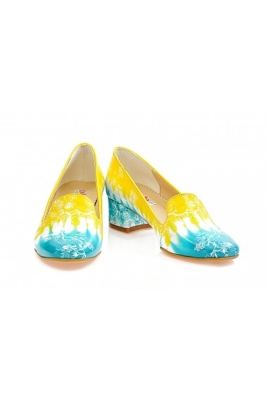 Pantofi cu toc Goby WDB103 multicolor