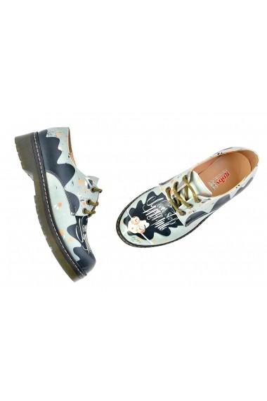 Pantofi Oxford GOBY FHP-WMAX207 Multicolor