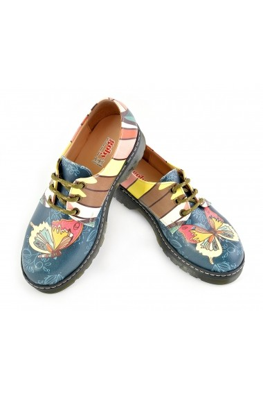 Pantofi Oxford GOBY FHP-WMAX208 Multicolor - els
