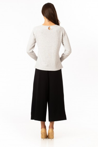 Pulover Sense tricotat Odette gri