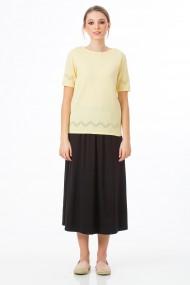 Bluza Sense tricotata Alice vanilie