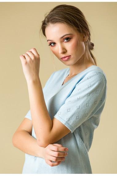 Bluza Sense tricotata Lorelai bleu