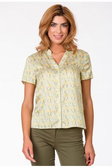 Bluza Sense imprimata Sunshine galben