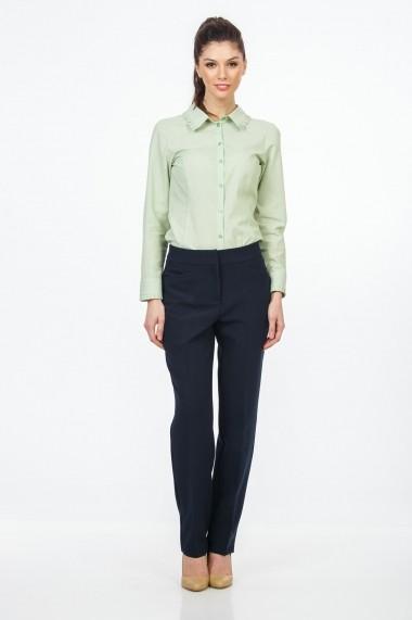 Pantaloni largi Sense Miriam Bleumarin