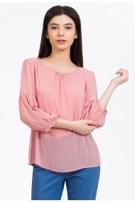 Bluza Sense voal Vivian roz