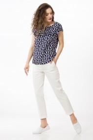 Bluza Sense imprimata Diana navy