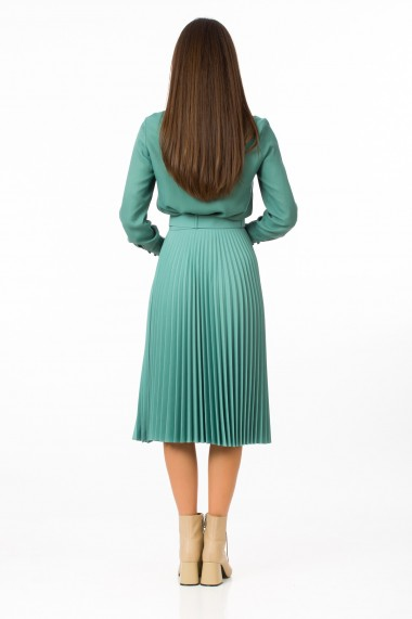 Fusta Sense plisata Donna verde