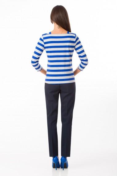 Bluza Sense jersey Audrey albastru+gri