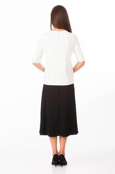 Bluza Sense jersey Denise alb