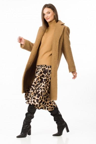 Palton Sense blana eco Sophie camel
