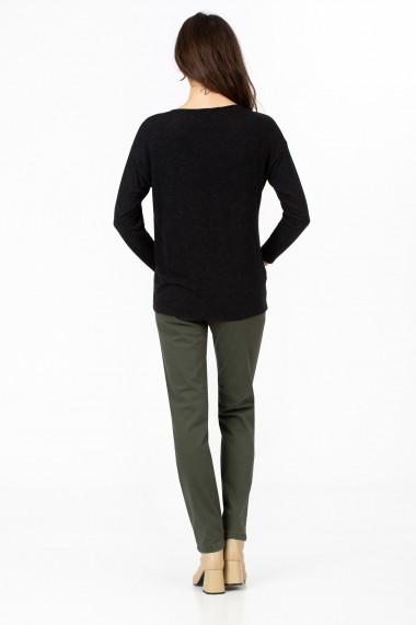 Bluza Sense jersey Anitta negru