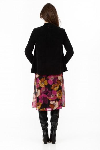 Cardigan Sense tricot Ethel negru