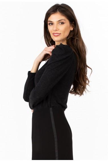 Bluza Sense jersey Lucy negru